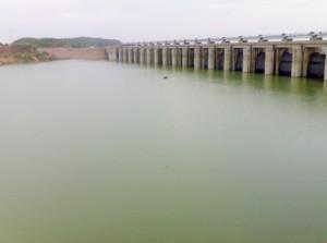 Bansagar Dam Reservior